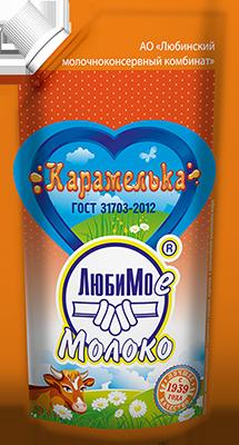 Консервы молокосодержащие с заменителем молочного жира, изготовленные по технологии консервов молочных сгущенных с сахаром вареных «Карамелька»