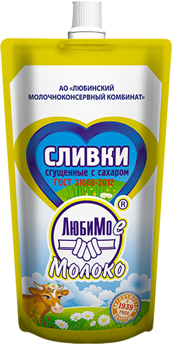 Condensed Cream with Sugar (Doy-Pack)