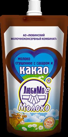 加糖的可可炼乳(包装:自立袋)