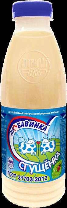 Консервы молокосодержащие сгущенные с сахаром с заменителем молочного жира «Сгущенка» (ПЭТ-бутылка)