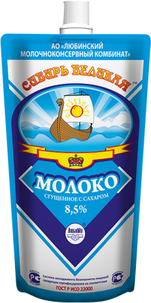 Whole Condensed Milk with Sugar (Doy-Pack)
